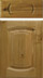 Solid Character Oak Kitchen Door