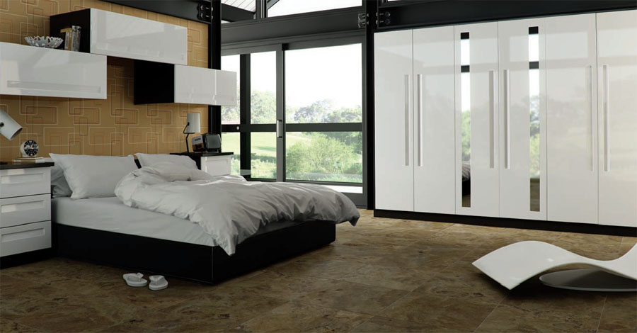 fitted wardrobes cork fitted bedrooms cork wardrobe and - Glossy White Bedroom Furniture