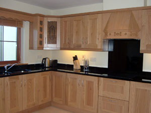 Solid Chestnut Fitted Kitchen