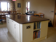 Solid Cream Fitted Kitchen - Image 2