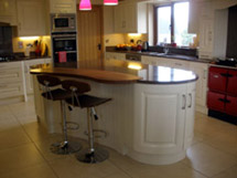 Solid Cream Fitted Kitchen - Image 4