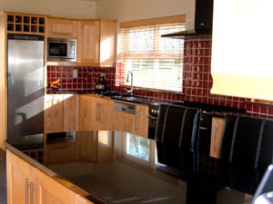 Solid Maple Fitted Kitchen - Image 1