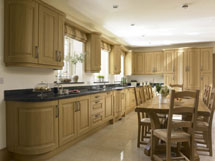 Turin Lissa Oak Fitted Kitchen - Image 1