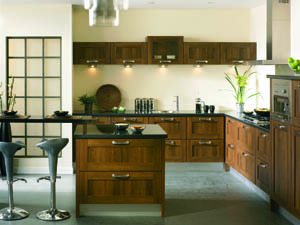 Tuscany Dark Walnut Fitted Kitchen - Image 2