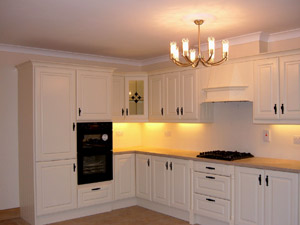 Vanilla PVC Fitted Kitchen