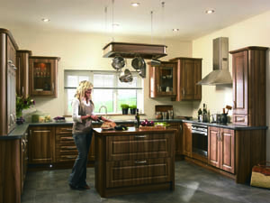 Paris Medium Tiepolo Fitted Kitchen